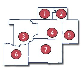 madison division counties
