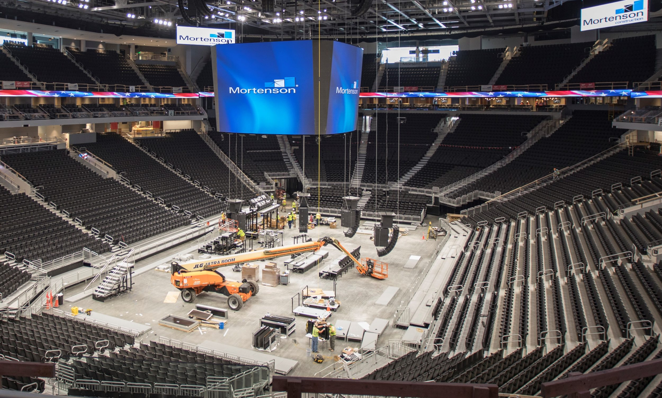 Fiserv Forum - Staff Electric